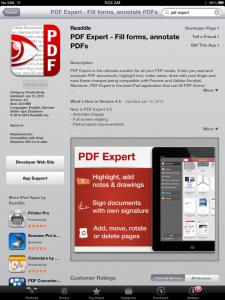 PDF Expert App Store ss
